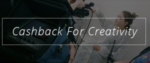 Cashback for Creativity