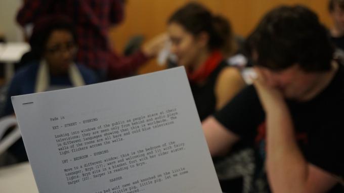 SEE @ EIFF   Hands-on…Screenwriting