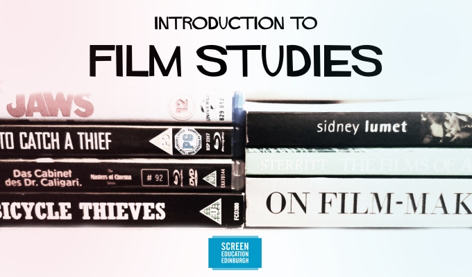 10 week Introduction to Film Studies course for adult learners