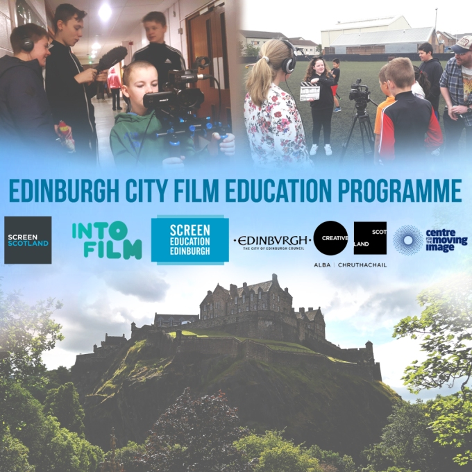 Edinburgh Film Education Programme poster 2